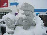 冬将軍到来!