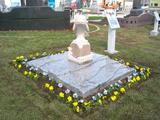 墓石ミュージアムのシンボル?