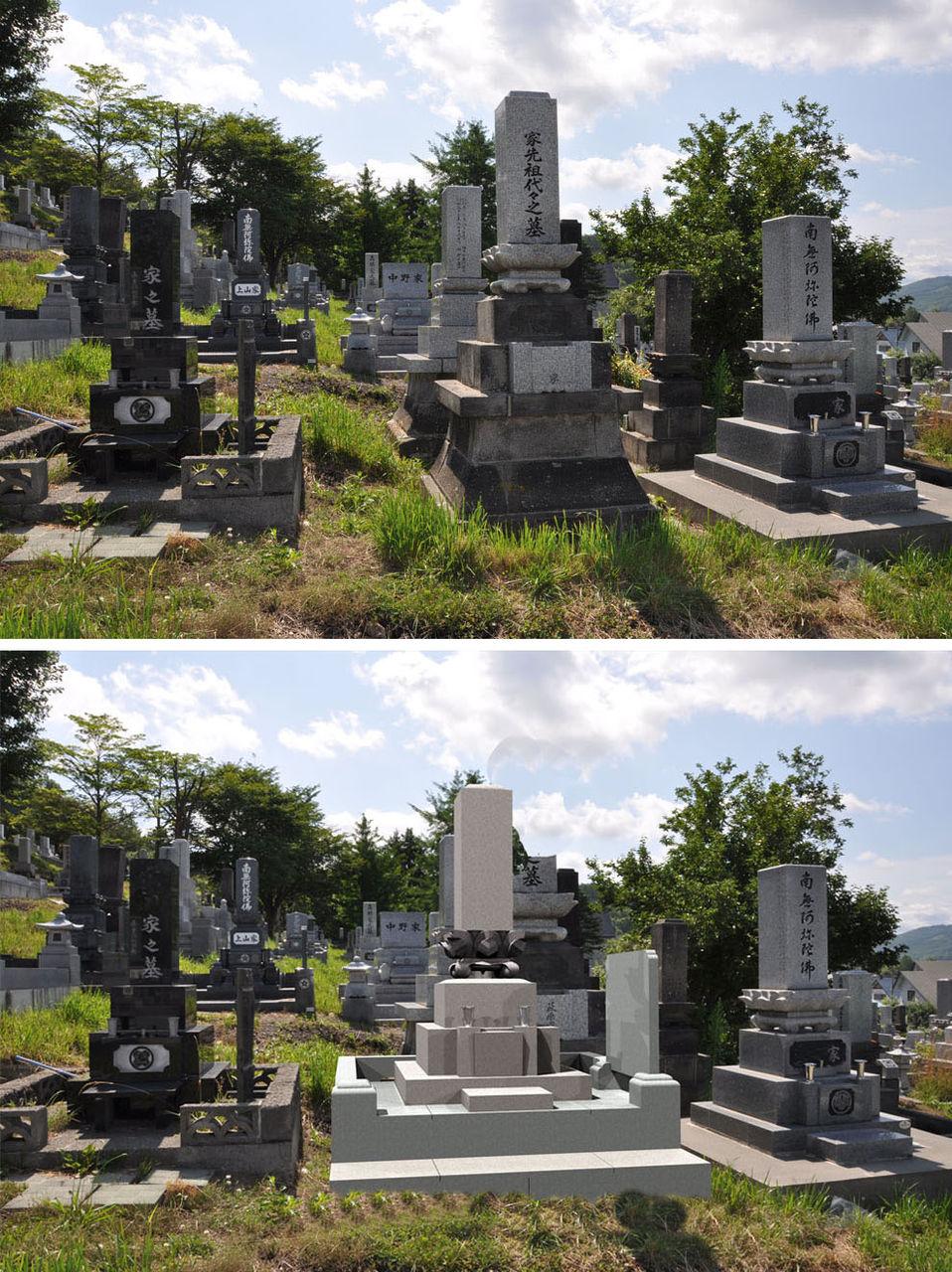 先祖代々の墓のリフォーム提案