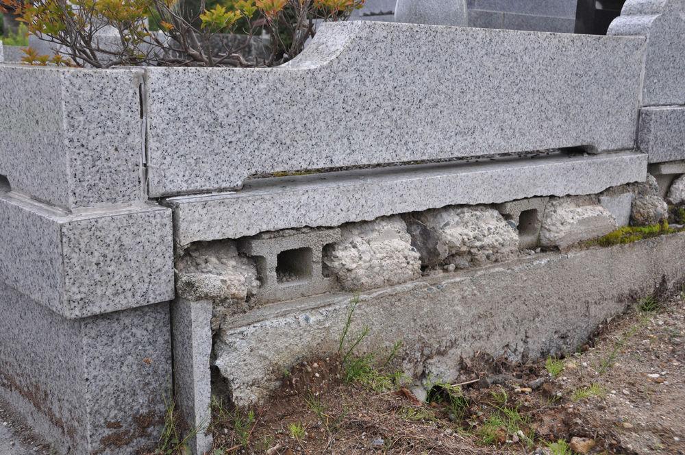 お墓のメンテナンスが高額になる例