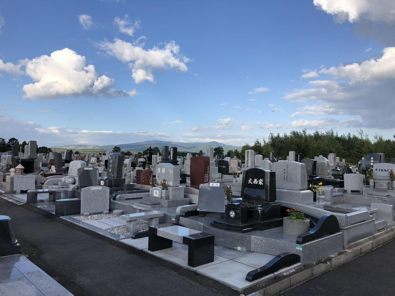 滝の川墓地地震後