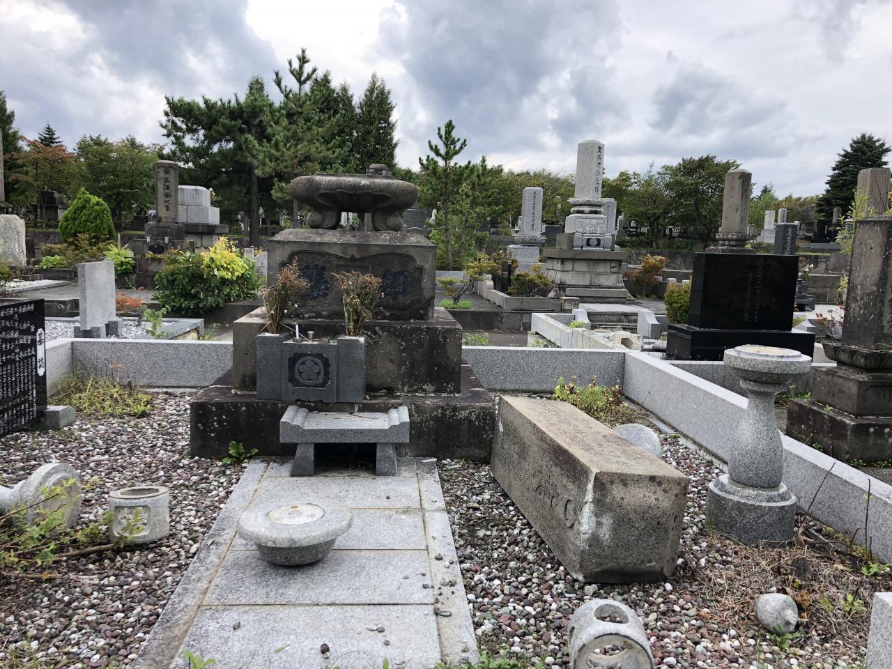 里塚霊園震災後1